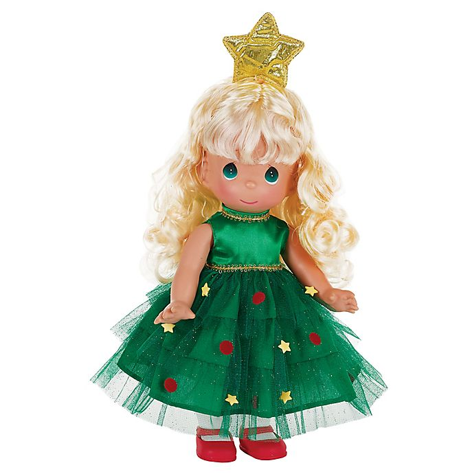 Alternate image 1 for Precious Moments® Tree-Mendously Precious Doll with Blond Hair