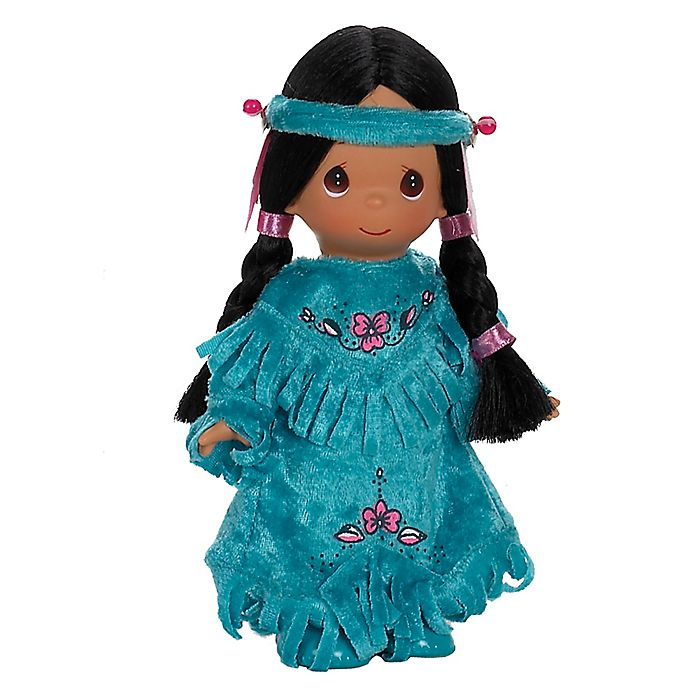 Alternate image 1 for Precious Moments® Two Lil Indian-Inspired Doll