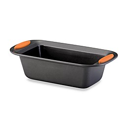 Rachael Ray™ Oven Lovin' Nonstick 9-Inch x 5-Inch Loaf Pan in Grey/Orange