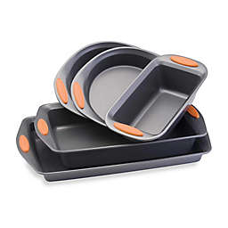 Rachael Ray™ Oven Lovin' Nonstick 5-Piece Bakeware Set in Grey/Orange