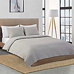 Lacoste Chevron Reversible King Coverlet in Heather Grey