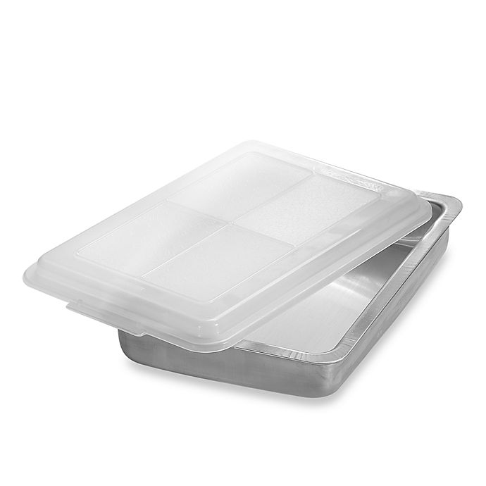 Alternate image 1 for AirBake® Ultra™ 9-Inch x 13-Inch Insulated Covered Aluminum Cake Pan