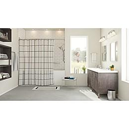 Linear Chic Contemporary Bath