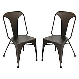 LumiSource Austin Dining Chairs (Set of 2)