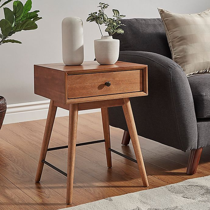 Alternate image 1 for Verona Home Landon Mid-Century Accent Table in Brown