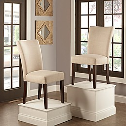 iNSPIRE Q® Tosca Linen Dining Side Chair (Set of 2)