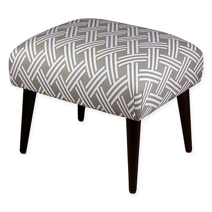 Alternate image 1 for Skyline Furniture Rectangle Ottoman in Saddle