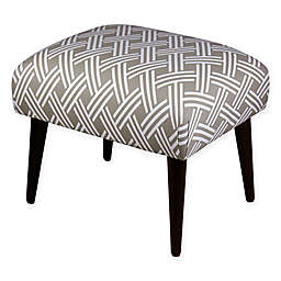 Skyline Furniture Rectangle Ottoman in Saddle