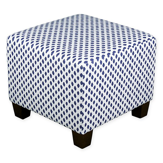 Alternate image 1 for Skyline Furniture Square Ottoman