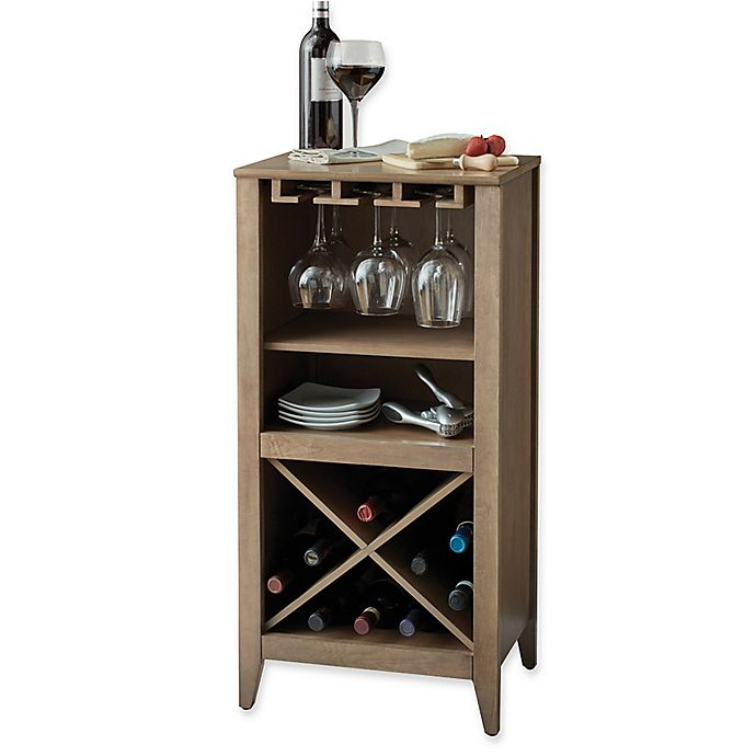 Long Valley No Tools Wine Storage Collection Bed Bath