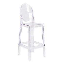 Flash Furniture Oval Back Ghost Chair