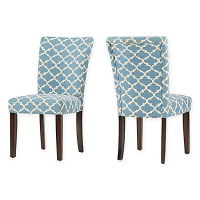 iNSPIRE Q® Tosca Printed Dining Side Chair (Set of 2)