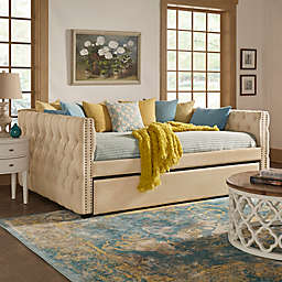 iNSPIRE Q® Cambria Full Daybed with Trundle in Beige