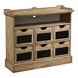 Pulaski 6-Drawer Accent Chest with Chalk Board Panels