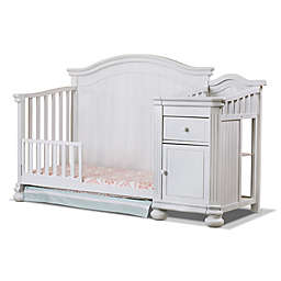 Sorelle Finely Crib & Changer Toddler Guard Rail in White