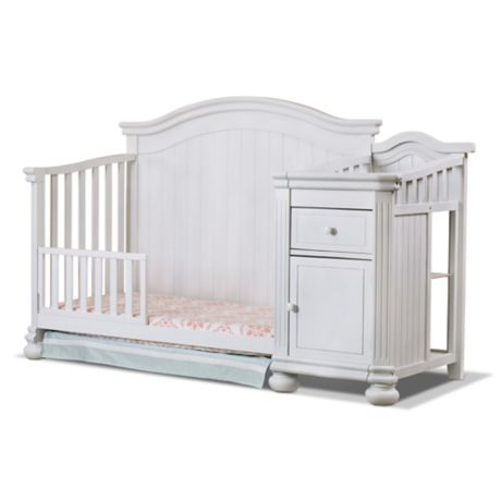 Sorelle Finley Toddler Guard Rail In White Buybuy Baby