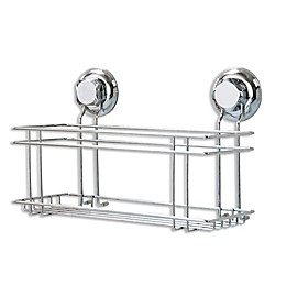 Suction Shower Caddy in Steel