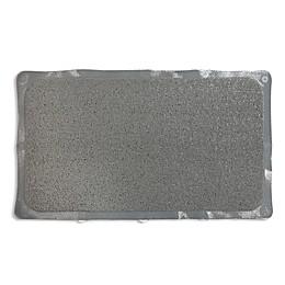 Bath Carpet Ultra Shower Mat with Anti-Slip Backing in Grey
