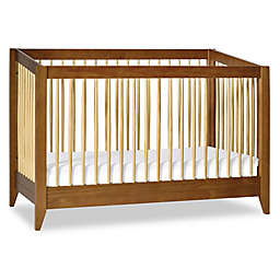 Babyletto Sprout 4-in-1 Convertible Crib with Toddler Bed Conversion Kit in Chestnut