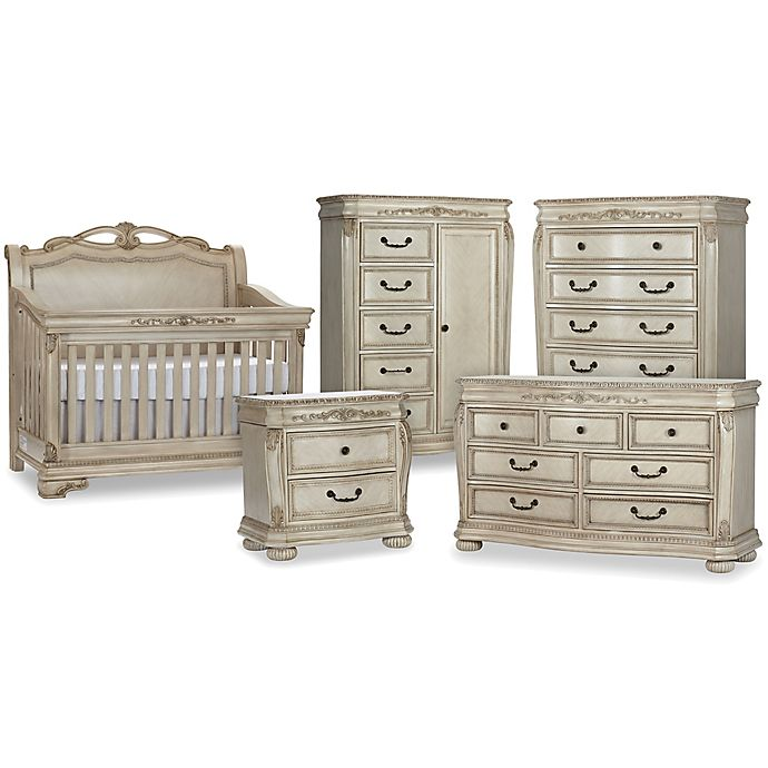 Alternate image 1 for Kingsley Wessex Nursery Furniture Collection in Seashell