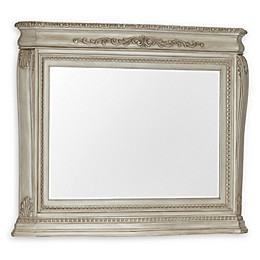 Kingsley Wessex Wall Mirror in Seashell