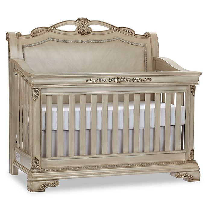 Alternate image 1 for Kingsley Wessex 4-in-1 Convertible Crib in Seashell