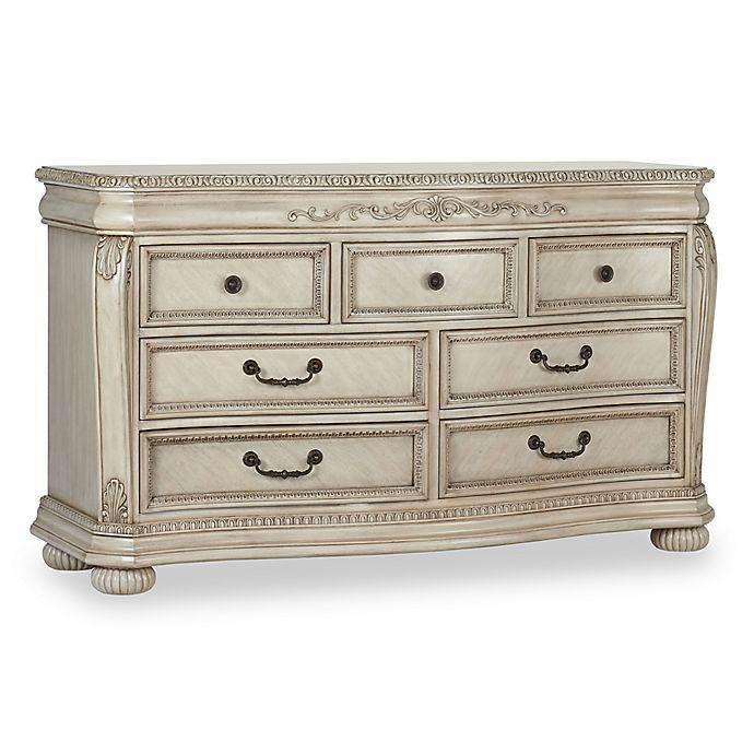 Alternate image 1 for Kingsley Wessex 7-Drawer Double Dresser in Seashell