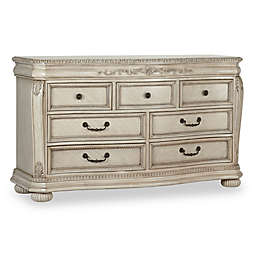 Kingsley Wessex 7-Drawer Double Dresser in Seashell