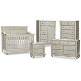 Kingsley Sedona Nursery Furniture Collection in Vintage Ivory