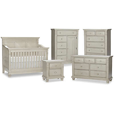 Kingsley Sedona Nursery Furniture Collection in Vintage Ivory