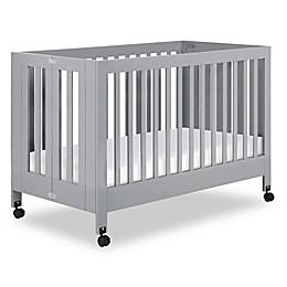 Babyletto Maki Full Size Portable Crib in Grey
