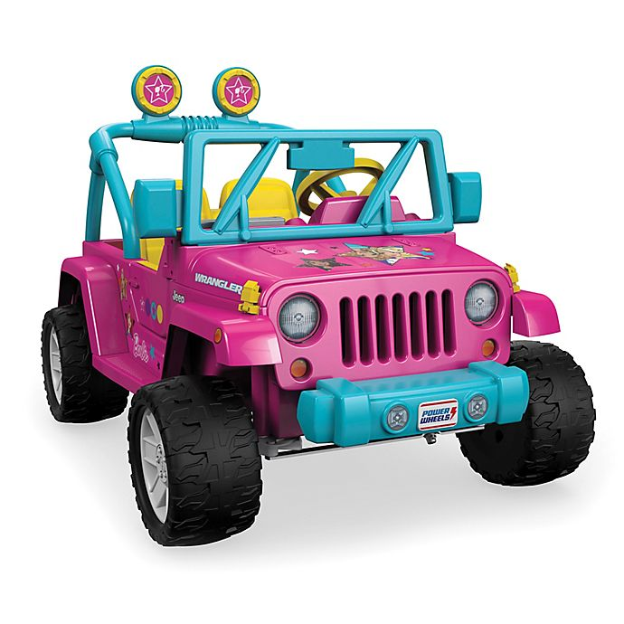 Alternate image 1 for Fisher-Price® Power Wheels® Barbie™ Jeep® Wrangler