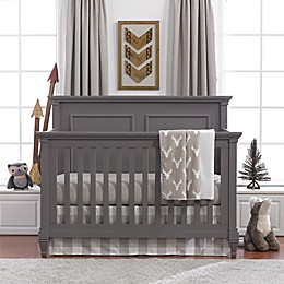 Liz and Roo Buck Woodland 3-Piece Crib Bedding Set in Taupe