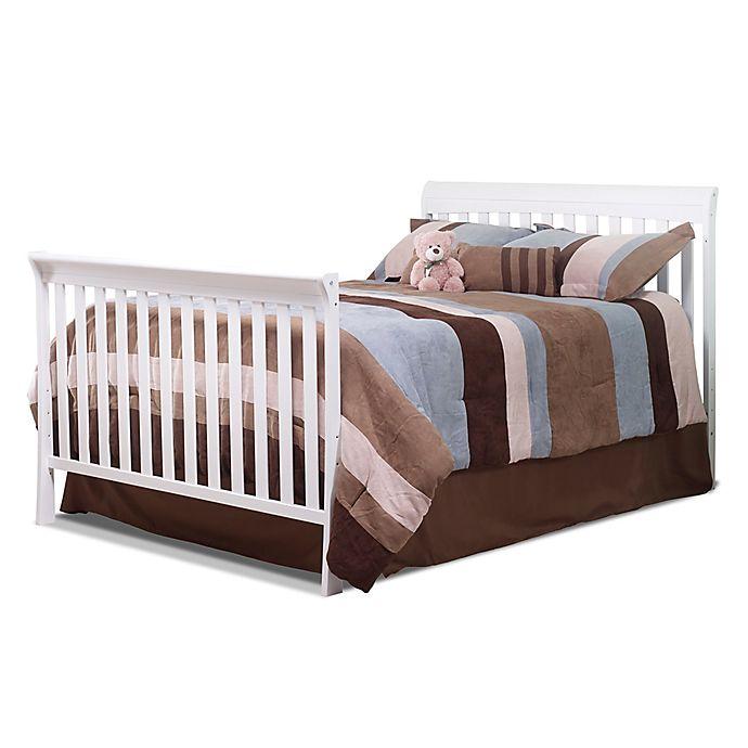Alternate image 1 for Sorelle Florence Crib & Changer Full-Size Bed Rails Kit