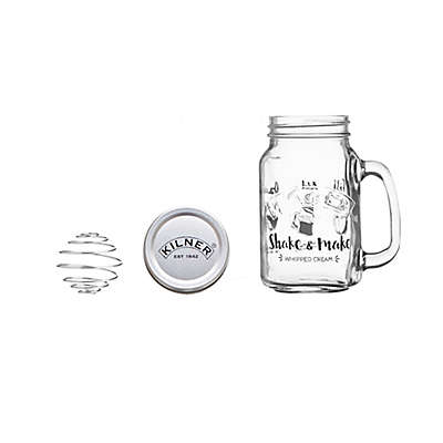 Kilner® Shake & Make Whipped Cream Jar