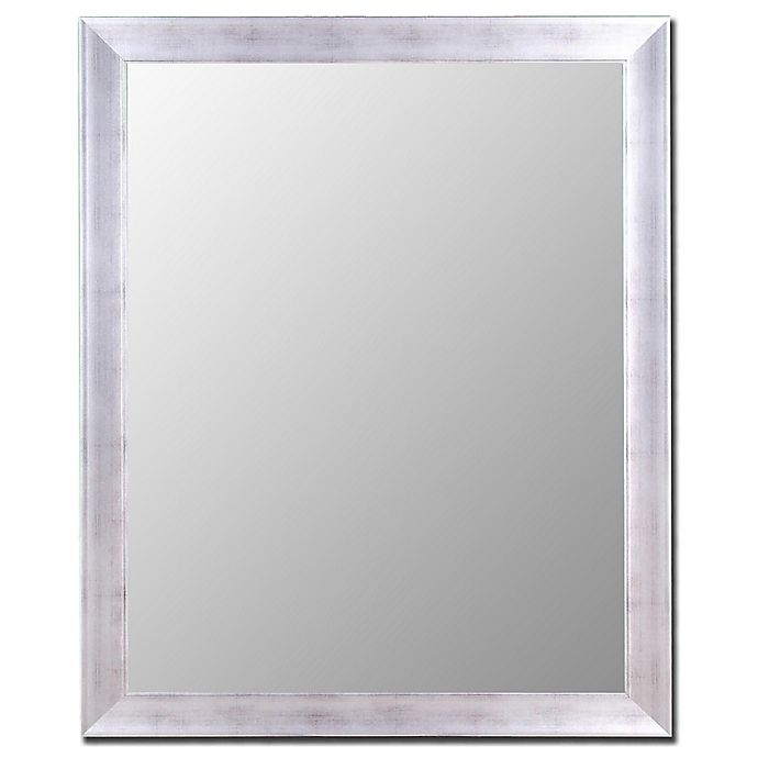 Alternate image 1 for Hitchcock-Butterfield 27-Inch x 37-Inch Vintage Mirror in Distressed Silver