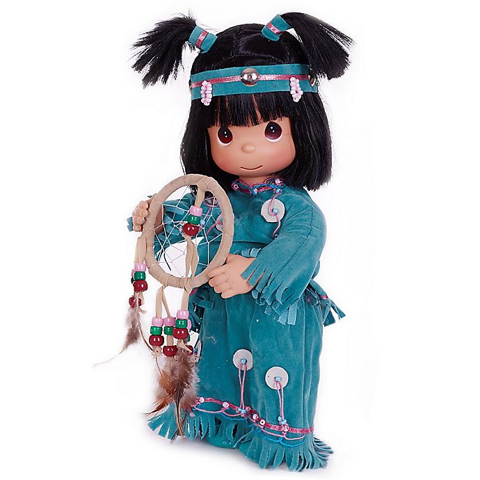 Alternate image 1 for Precious Moments® Day Dreams Native American-Inspired Doll