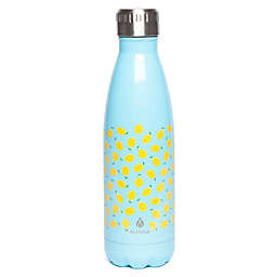 Manna Vogue® Double Wall 17 oz. Stainless Steel Water Bottle in Lemon