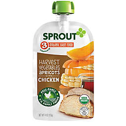 Sprout® 4-Ounce Stage 3 Organic Baby Food in Harvest Vegetables & Apricot with Chicken