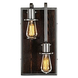 Varaluz® Lofty Lower Right 2-Light Wall Sconce