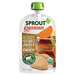 Sprout® 4-Ounce Stage 3 Organic Baby Food in Root Vegetables with Beef