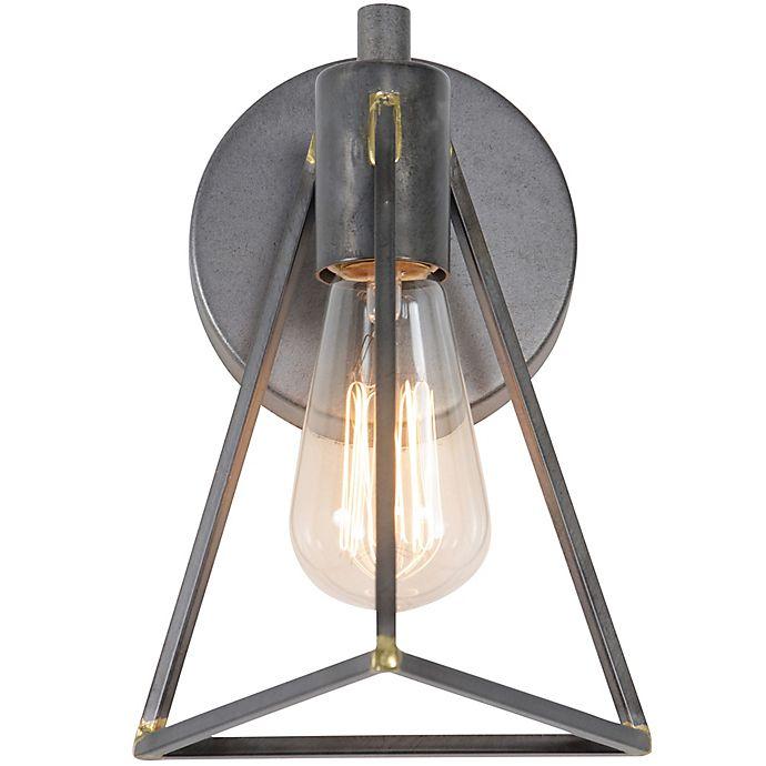 Alternate image 1 for Varaluz Trini Vanity Light in Charcoal