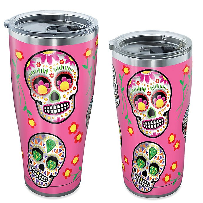 ebd85afcd97 Tervis® Scattered Sugar Skulls Stainless Steel Tumbler with Lid ...