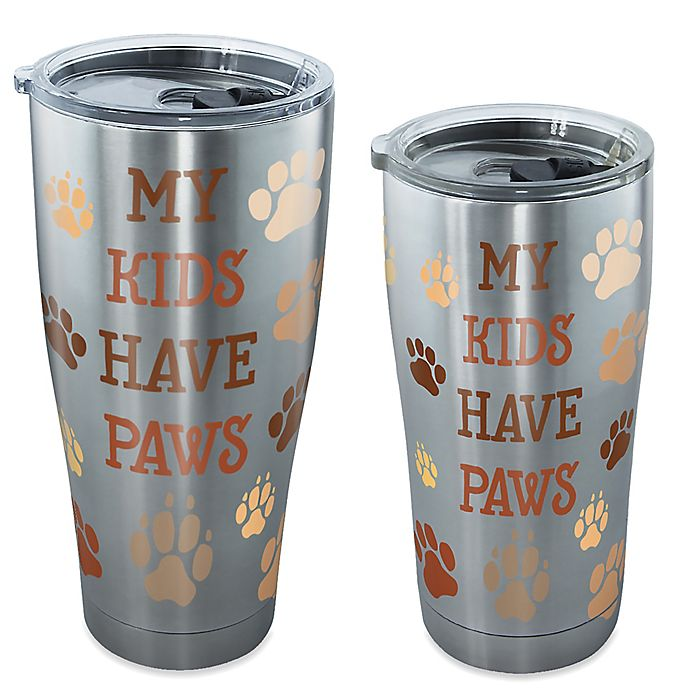 Alternate image 1 for Tervis® My Kids Have Paws Stainless Steel Tumbler with Lid