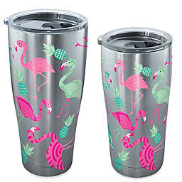 Tervis® Flamingo Pattern Stainless Steel Tumbler