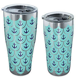 Tervis® Great Outdoors Anchor Scallop Tumbler with Lid in Stainless Steel