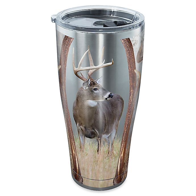 Alternate image 1 for Tervis® Deer Trio 30 oz. Stainless Steel Tumbler with Lid