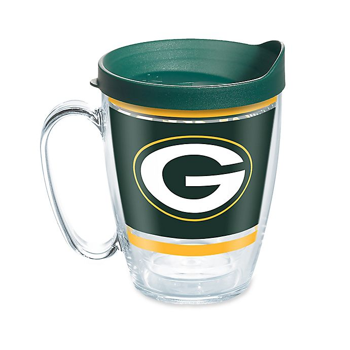 Alternate image 1 for Tervis® NFL Green Bay Packers Legends 16 oz. Mug with Lid