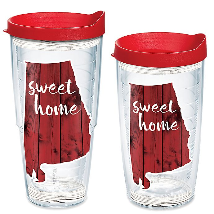 Alternate image 1 for Tervis® Home Sweet Alabama Wrap Tumbler with Lid
