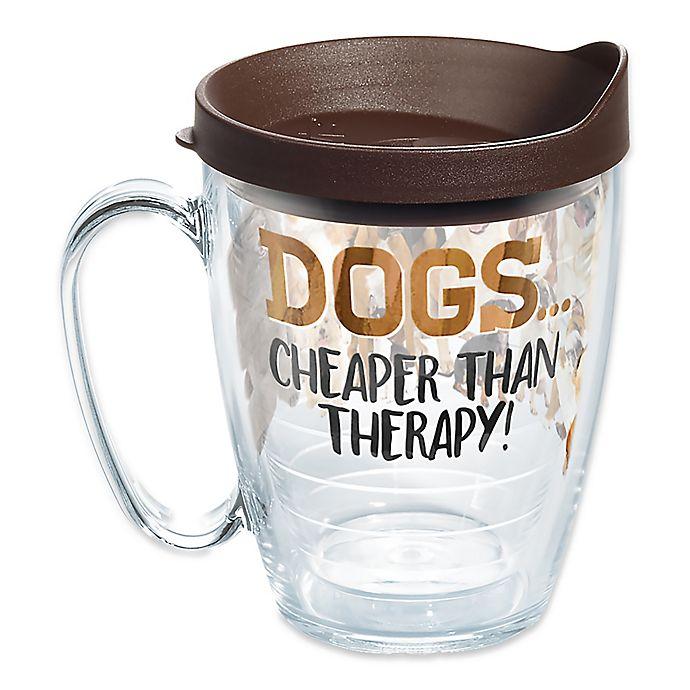 Alternate image 1 for Tervis® Dog Therapy 16 oz. Mug